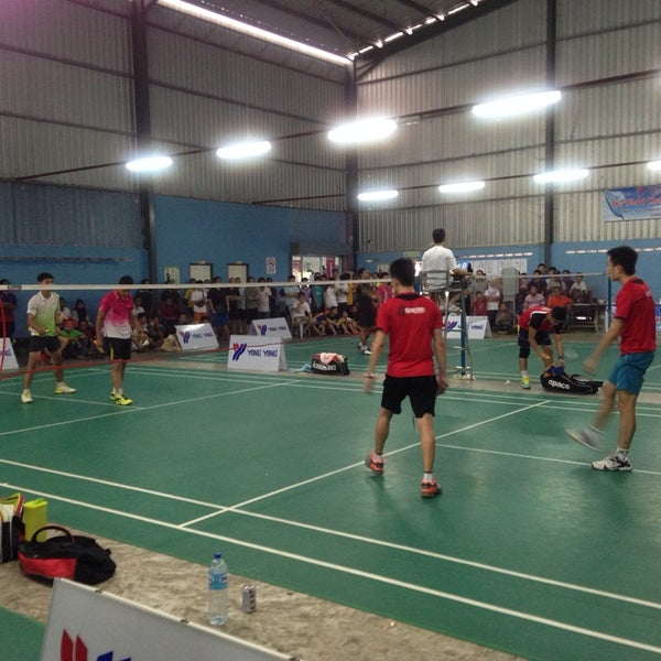 Yang Yang Badminton Basketball Court In Batu Pahat