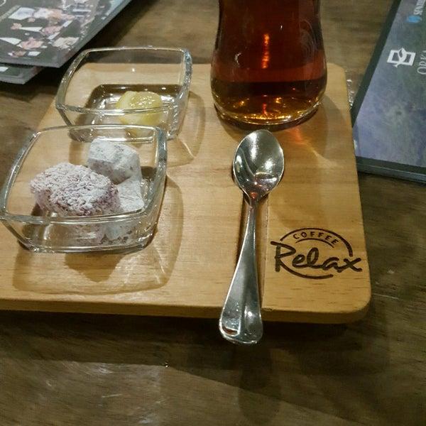 Foto scattata a Coffee Relax da 🐞Oya İnci ❤ .. il 4/22/2017