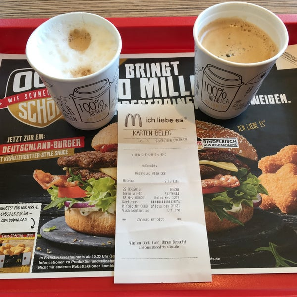 karte mcdonald's deutschland Photos at McDonald's   Fast Food Restaurant