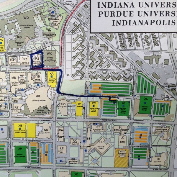 IUPUI: Blackford St. Garage (XF) - Parking in Indianapolis on