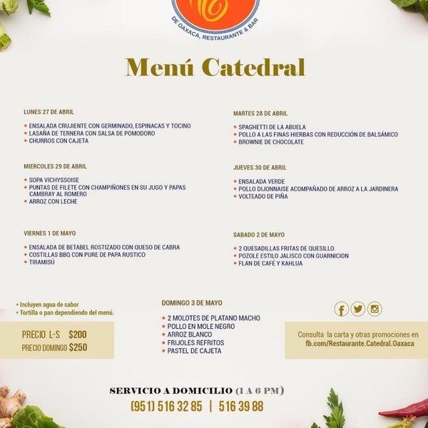 4/27/2020에 Restaurante Catedral님이 Catedral Restaurante & Bar에서 찍은 사진