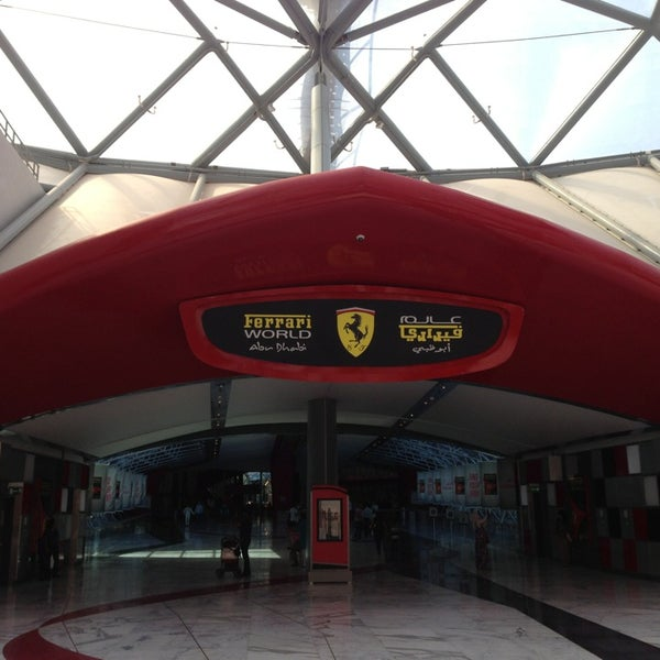 Photo taken at Ferrari World Abu Dhabi by Steven H. on 1/19/2013