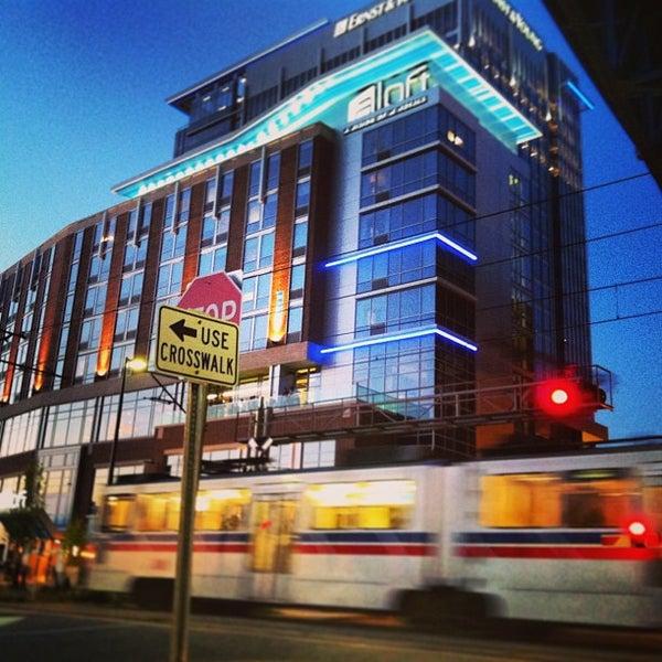 aloft cleveland downtown hotel in downtown cleveland. Black Bedroom Furniture Sets. Home Design Ideas