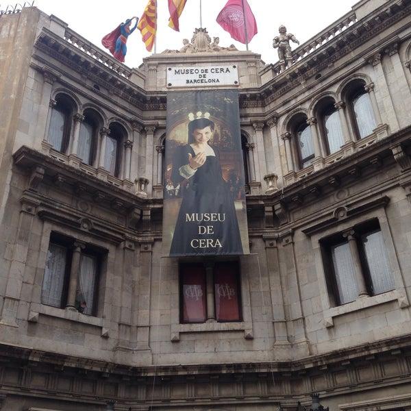 8/11/2017にCristina S.がMuseu de Cera de Barcelonaで撮った写真