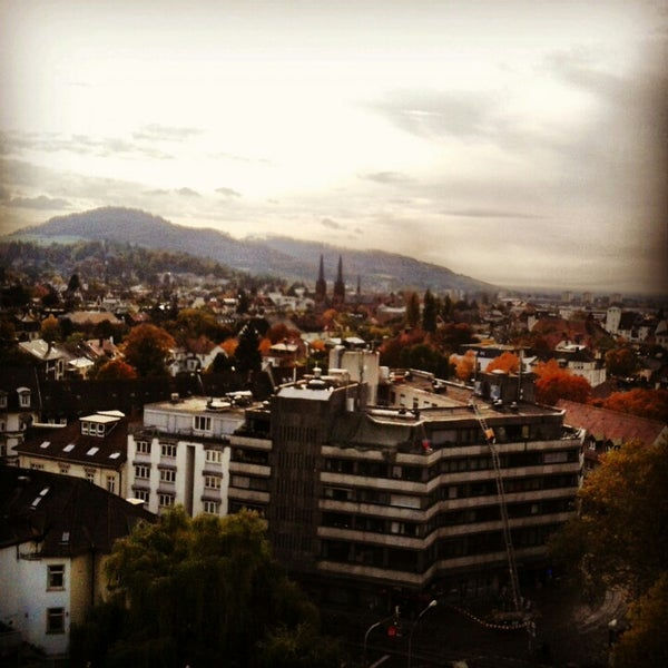 Das Foto wurde bei Greiffenegg Schlössle Restaurant von Maria A. am 10/21/2013 aufgenommen