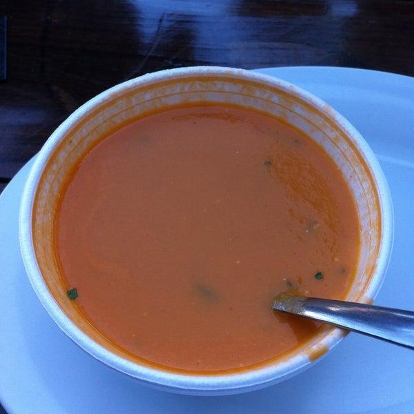 Tomato soup yum yum!!