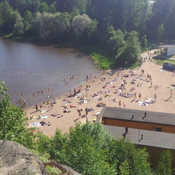 Das Foto wurde bei Pikkukosken uimaranta von Kristian L. am 6/5/2013 aufgenommen