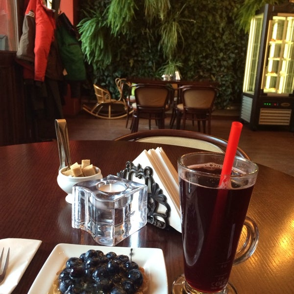 Photo taken at Tea & Coffee garden by Julia C. on 2/5/2014