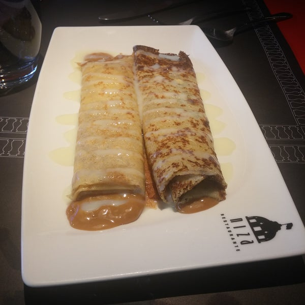 The Argentinean Crepes, with Dulce de Leche is a must have. Awesome!!