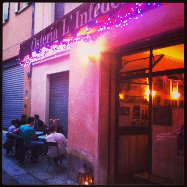 Piccolo posto, accogliente, d'atmosfera. Buon menù da Osteria. Ottimo rapporto qualità prezzo. Da vedere.