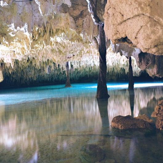 Rio Maya en cenotes labnaha!