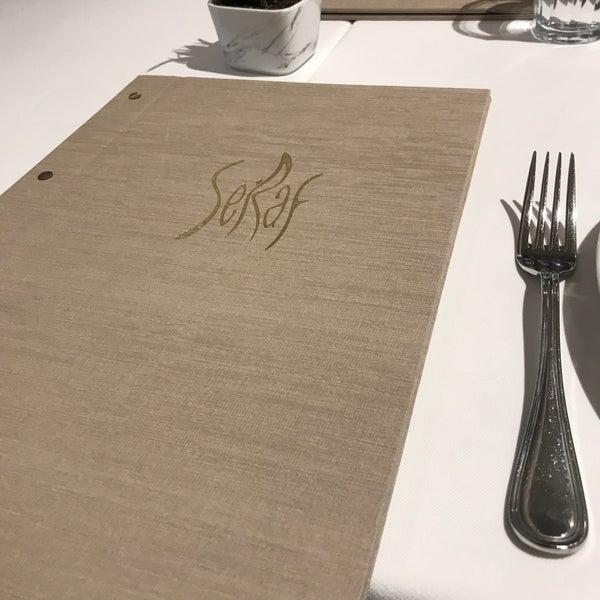 2/7/2019 tarihinde Barışziyaretçi tarafından Seraf Restaurant'de çekilen fotoğraf