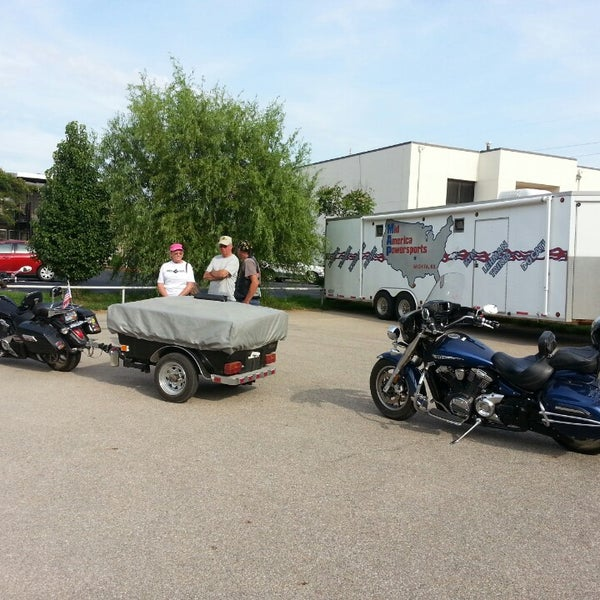 Photo taken at Mid America Powersports by Sandy R. on 8/14/2014