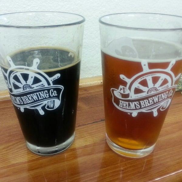 Foto diambil di Helm's Brewing Co. oleh Uncast pada 6/9/2013