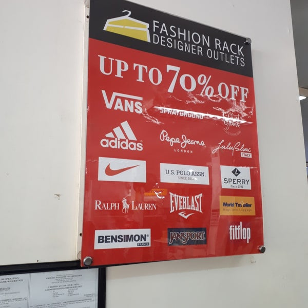 Fashion Rack Designer Outlets Camp John Hay Baguio Mile Hi Center Mile Hi Center Loakan Road Camp John Hay
