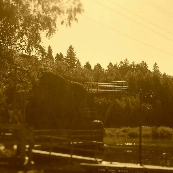 Das Foto wurde bei Pikkukosken uimaranta von Jussi T. am 8/23/2015 aufgenommen
