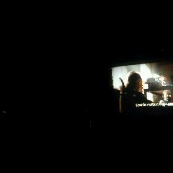 Photo prise au Cine Thisio par Paris K. le5/7/2013