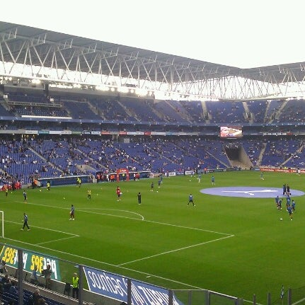 Foto diambil di RCDE Stadium oleh Manuel G. pada 10/21/2012