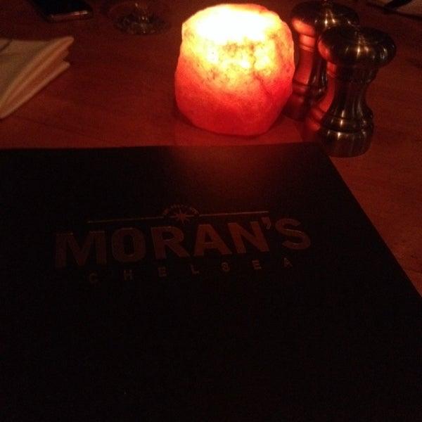 Photo prise au Moran's - Chelsea par Pedro R. le3/9/2014
