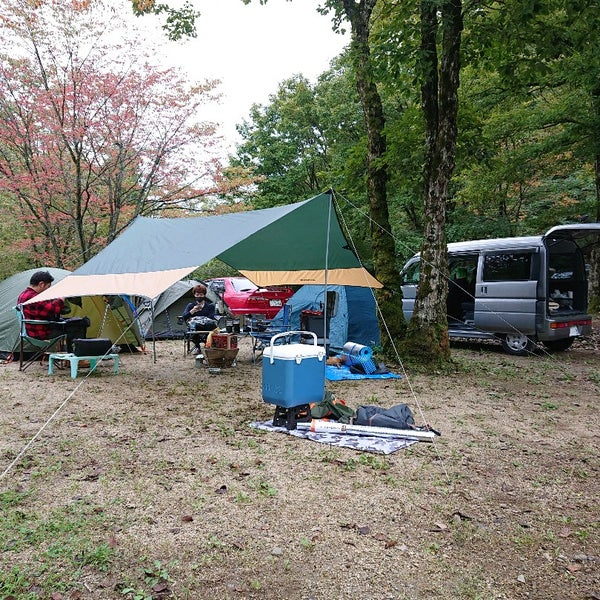 キャンプ 森 まなか 場 の