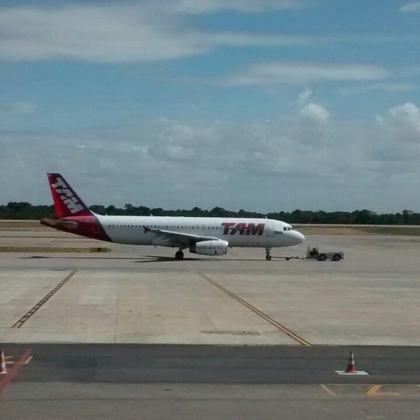 Снимок сделан в Aeroporto Internacional de Natal / São Gonçalo do Amarante (NAT) пользователем Rodrigo R. 10/5/2014