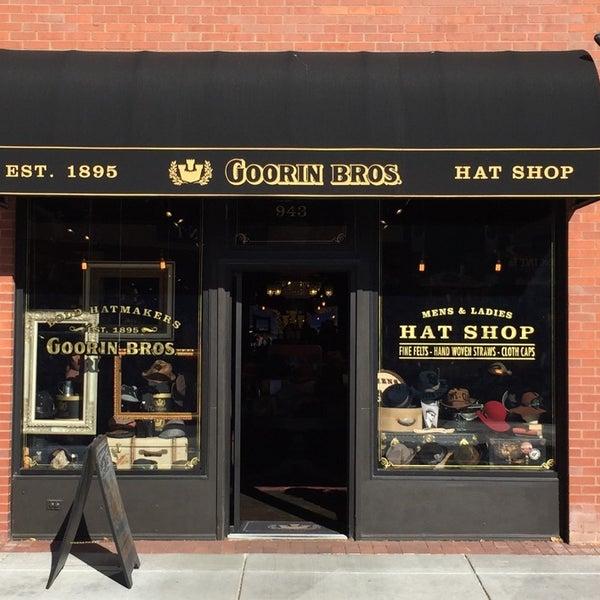04eb267d5b4 Photo taken at Goorin Bros. Hat Shop - West Pearl Street by Jonathan P.