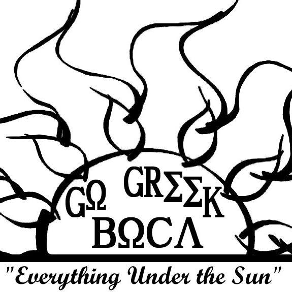 Снимок сделан в Go Greek Boca Store пользователем Go Greek Boca Store 12/26/2013