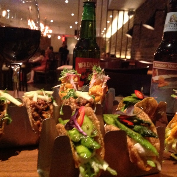 Happy Everyday from 4:30-8pm!!!  $3 Tacos, $5 Local Draft Beer, $6 Wine + $8 Special Cocktail!  Weekends too!  CAN'T BEAT THAT!!!