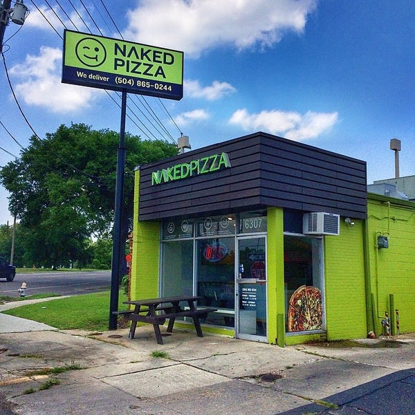 Naked pizza orleans