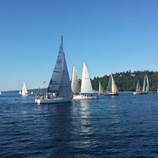 Photo prise au Seattle Sailing Club par Cem H. le6/3/2014