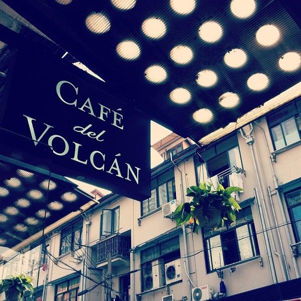 Снимок сделан в Café del Volcán пользователем Alaric S. 10/23/2012