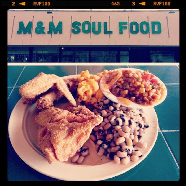M M Soul Food Southern Soul Food Restaurant In Los Angeles