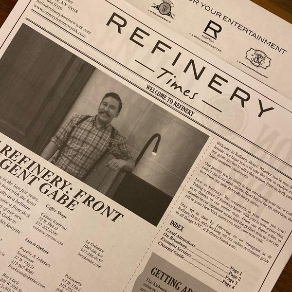 1/13/2020에 Alex T.님이 Refinery Hotel에서 찍은 사진