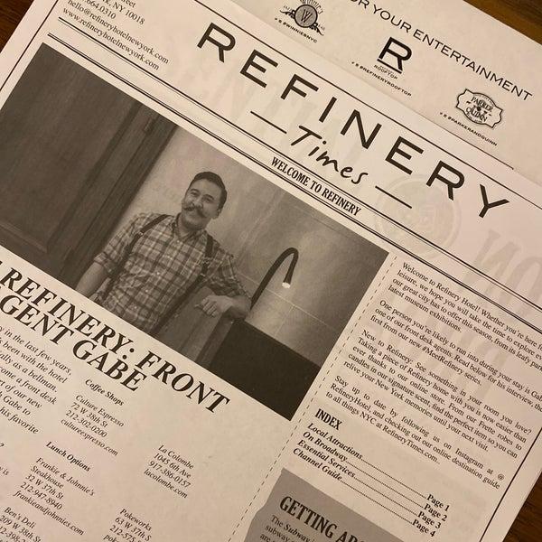 1/16/2020에 Alex T.님이 Refinery Hotel에서 찍은 사진
