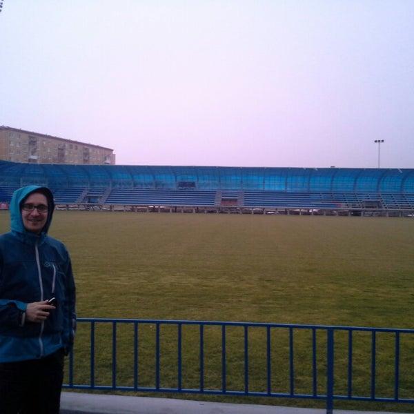 Das Foto wurde bei Štadión FK Senica von Martin V. am 2/16/2014 aufgenommen