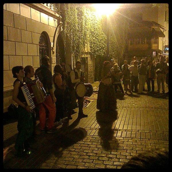 Снимок сделан в Paseo Barrio Lastarria пользователем Luis A. 1/4/2015