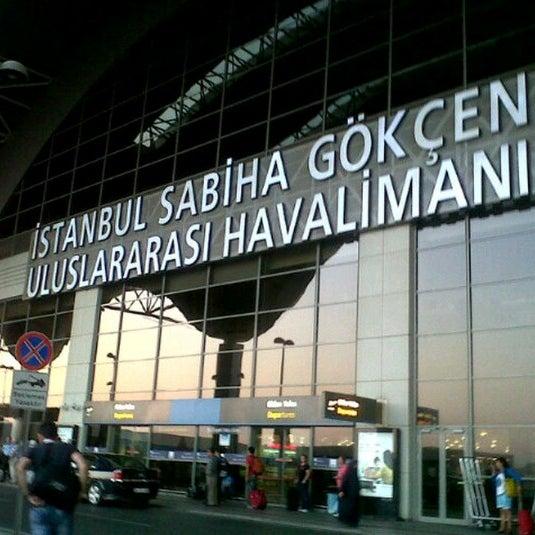 Снимок сделан в Аэропорт Стамбул им. Сабихи Гёкчен (SAW) пользователем Ismail K. 10/24/2013