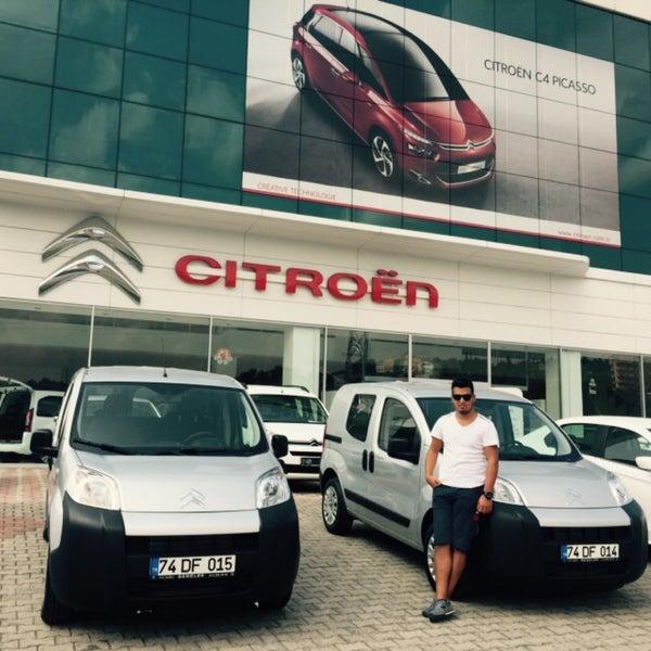 Citroën - Zonguldak - Ereğli Yolu