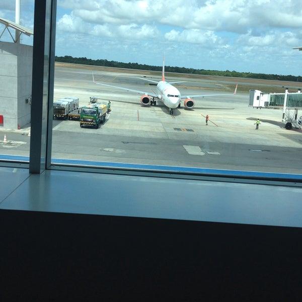 Снимок сделан в Aeroporto Internacional de Natal / São Gonçalo do Amarante (NAT) пользователем Guilherme C. 5/9/2015