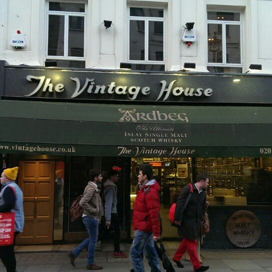 The Vintage House Soho 42 Old Compton St