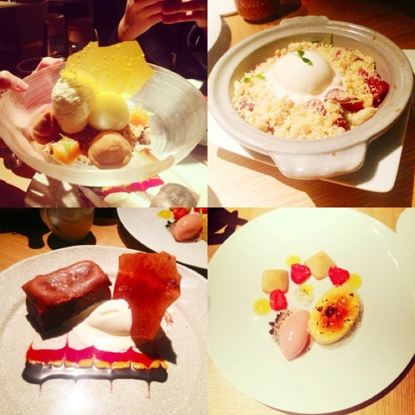 The desserts!!!!! Must TRY