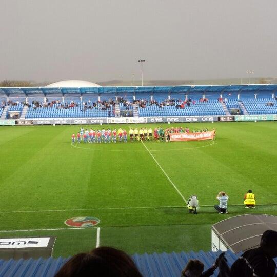 Photo prise au Štadión FK Senica par Greta N. le4/8/2014