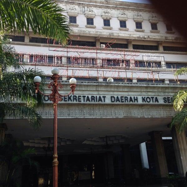 Das Foto wurde bei Pemkot Semarang von Valentino R. am 9/11/2014 aufgenommen