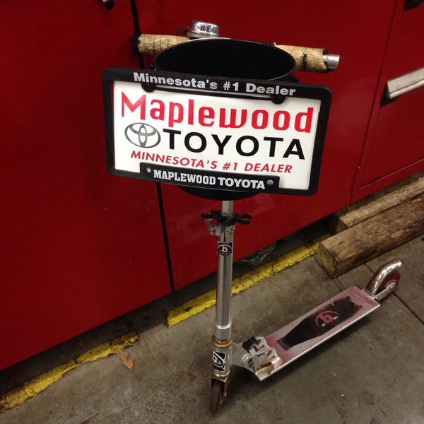 Photo Taken At Maplewood Toyota By Neal G On 10 25 2017