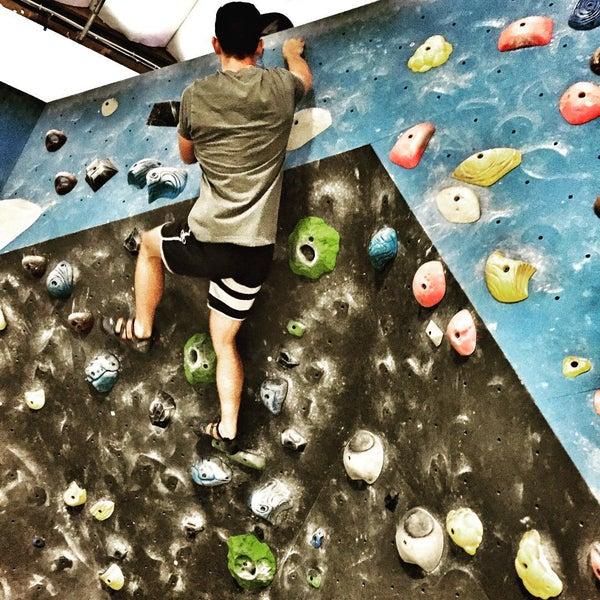 8/3/2015にEmma O.がSender One Climbing, Yoga and Fitnessで撮った写真