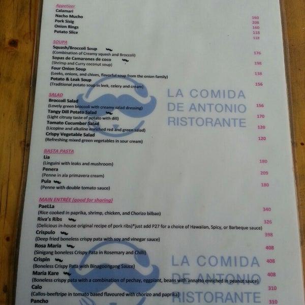 Photos at La Comida de Antonio Ristorante (Now Closed