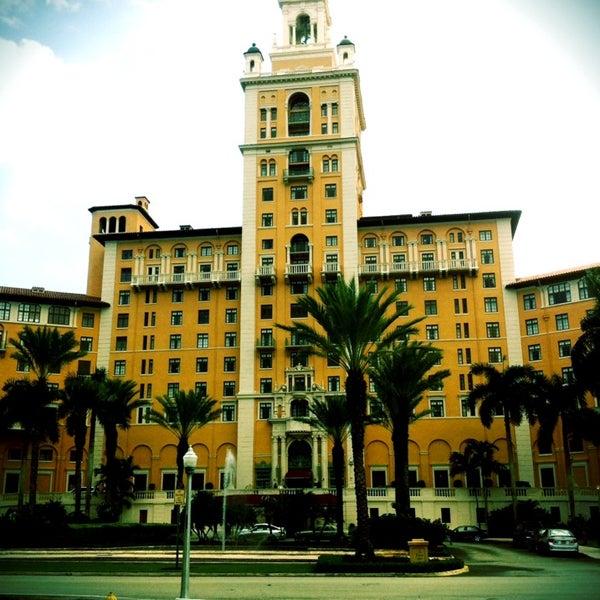 Miami Biltmore Hotel Resort In Coral Gables