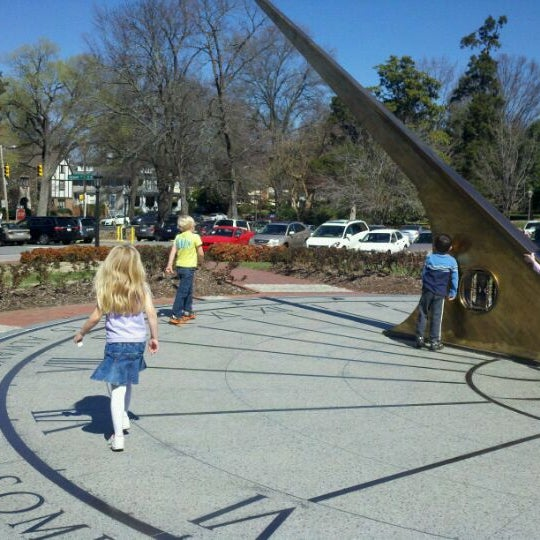 Photos at Morehead Planetarium Sundial - University of North