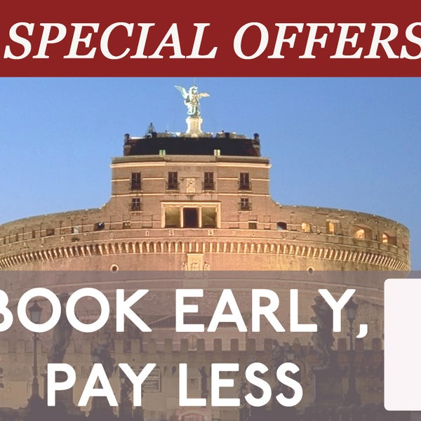 Book at least 1 month in advance and get a 15% discount on the whole amount of your reservation!
