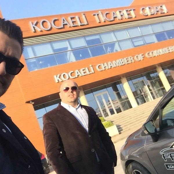 3/30/2017 tarihinde Murat B.ziyaretçi tarafından Kocaeli Ticaret Odası'de çekilen fotoğraf